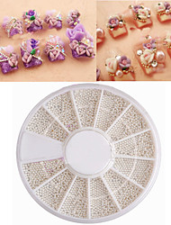 Collections of Full DIY Manicure Decorative Stickers Drilling Special Silver Ball Nail Art  Decoration kits