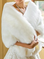 Wedding  Wraps / Fur Wraps Shawls Faux Fur White Wedding / Party/Evening