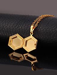 Dourado Medalhões Colares Cobre / Chapeado Dourado Casamento Jóias