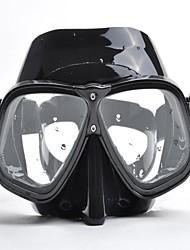 Masques de plongée en PVC/Silikon - Noir