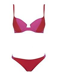 Bikinis ( Poliéster/Spandex )- Sujetadores con relleno Mujer