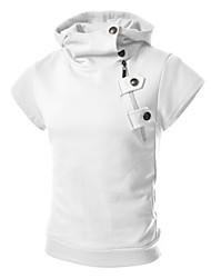 Hugo Men's Casual Hoodie Short Sleeve Sweats & Hoodies