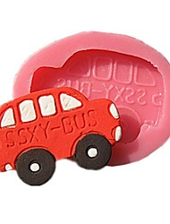 Small Bus Chocolate Mold Fondant Cake Molds Soap Chocolate Mould For The Kitchen Baking