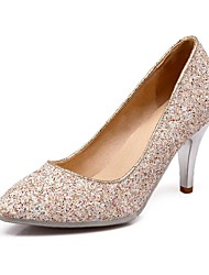 Women's Shoes Glitter Stiletto Heel Pointed Toe Pumps Dress More Colors available