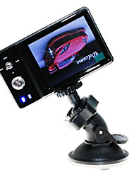 "Car DVR Camcorder Camera K6000 720P Full HD Night Vision 140° Angle Lens with 2.7"" TFT LCD Screen G-Sensor -3LED"