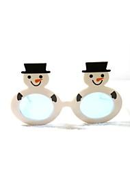 pc kerst grappige sneeuwman geek&chique party bril