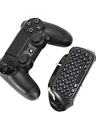 Bluetooth Mini Wireless Chatpad Text Chat Message Game Controller Keyboard Console for Sony Playstation PS4 Controller