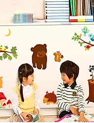 casa del piccolo animale smontabile dell'autoadesivo della parete / camera da letto dei bambini