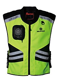 Scoyco Motorcycle Reflective Safety Suit Cycling Vest
