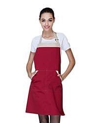 35% Cotton Wine Red Apron