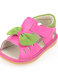 Baby Shoes Dress/Casual Calf Hair Sandals Red