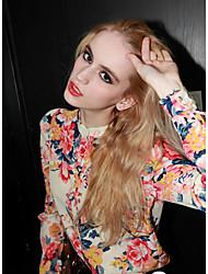 Манни женская сексуальность цветочный принт шифона рубашку