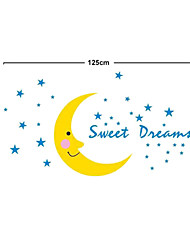 Sweet Dream Moon PVC Wall Stickers