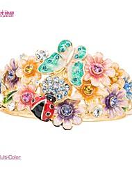 Lady's/Pageant/Fashion Neoglory Jewelry Flower Bracelet Bangle with Austrian Rhinestone for Spring