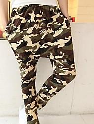 Pantalón Deportivo ( Verde , Poliéster ) - Casual - Impresión - para HOMBRES