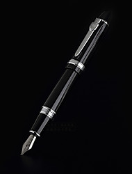 0.7mm Black Metal Business Fountain Pen for Painting