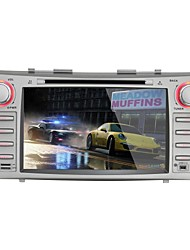 Toyota Camry 2007-2011 Car DVD Player  Android4.4 2 Din 8'' 800 x 480Built-in Bluetooth/GPS/RDS/3D UI/WiFi/Subwoofer