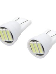Car Modification Accessories  T10 1.5W LED White Light Reading Lights License Plate Lights Rear Lights(12V) (10PCS)