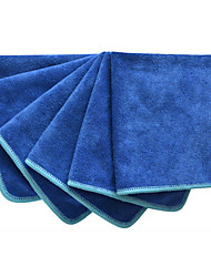 Sinland All-purpose Microfiber Cleaning Cloths Wiping Dusting Rags (Pack of 6)