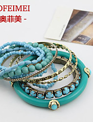 European and American hand-woven beaded fresh multi-bohemian ocean winds bracelets accessories