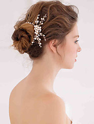 Women's Pearl/Crystal Headpiece - Wedding/Special Occasion Hair Combs