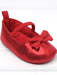 Baby Shoes Wedding/Dress/Casual Fabric Flats Red