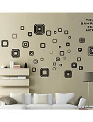 pared calcomanías pegatinas de pared, forma de pvc pegatinas de pared