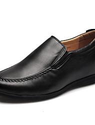 Шерсть теленка - MEN - Круглый носок - Мокасины