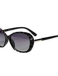 Sunglasses Women's Elegant / Modern / Fashion / Crystal / Polarized Oversized Black / Brown / Red Sunglasses Full-Rim