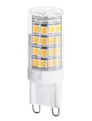 G9 3.5W 350lm 3000k / 6000k 51-SMD 2835 LED Warm White / Natural White Light LED Ceramic Corn Bulbs (AC200V)