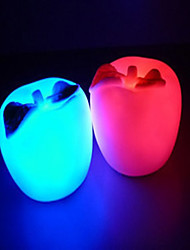 Multicolor Apple Pattern Night Light