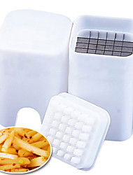 batata aço dispositivo trituradora de corte inoxidável com recipiente (cor aleatória) 12.5 * 9.5 * 5 centímetros