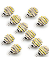 Luzes de Bi-Pin ( Branco Quente/Branco Frio G4 - 5 500-700 lm- AC 12 V- 10 Pças.