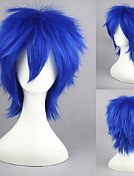 13inch vocaloid-kaito blue anime peruca cosplay