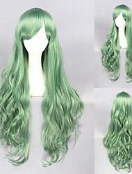 32-Zoll-grünen locken schöne lolita Perücke