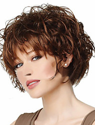 High-quality European and American Fashion High-quality Synthetic Wig High Temperature Wire Little Curls