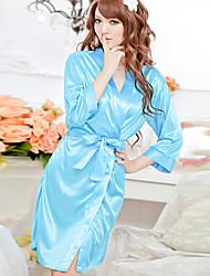 Women'S Sexy Ice Silk Lingerie Charming Nightwear