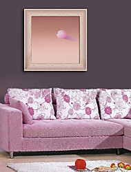E-HOME® Framed Canvas Art, Pink Abstract Framed Canvas Print