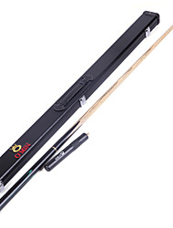 3/4 Jointed  Handmade ash snooker/Pool Cue O'min brand  billiard cue+Cue Case