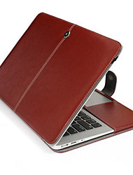 Apple MacBook Air 13-inch behuizing folio case flip case pu lederen tas harde case voor de MacBook Air 13 ""