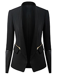 Women's Black Blazer , Casual/Work Long Sleeve