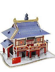 3 d modelo de construção de quebra-cabeça pubs na china