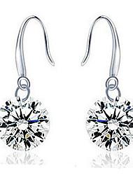 Deal Women's Silver Pendant Earrings
