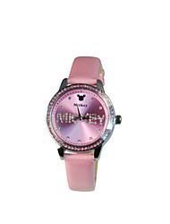 Exquisite crystal dial big face girl's fashion watches DC-51023