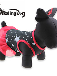 Dresses for Dogs / Cats Black Summer XS / S / M / L Cotton