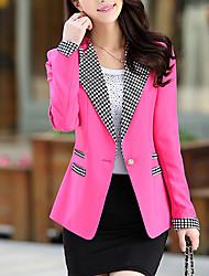 Women's Party Work Medium Long Sleeve Regular Blazer