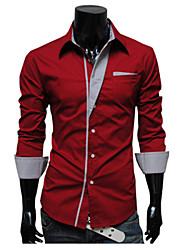 глобальные сети Мода Тонкий рубашку