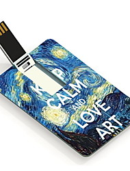 16GB Keep Calm and Love Art Design Card USB Flash Drive