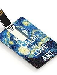 16gb manter a calma e amor arte drive flash card projeto usb