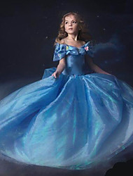 Kid's Dress , Cotton Blend / Organza Casual / Party / Cute Alisa